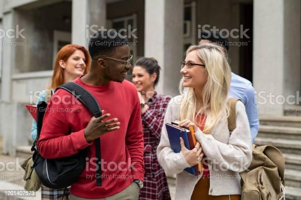 Multiethnic student friends walking in college campus picture id1201407573?b=1&k=6&m=1201407573&s=612x612&h=hm3tpvdkspvr7a0ljbqejenninutnruotzyxyysnoru=