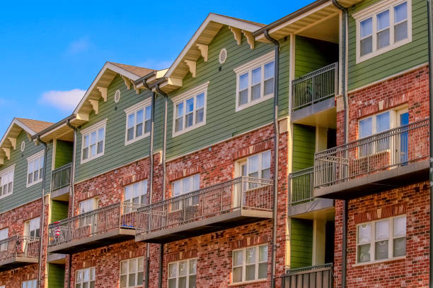 Multifamily Building stock photo