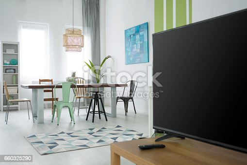 660325278istockphoto Multifunctional flat with dining table 660325290