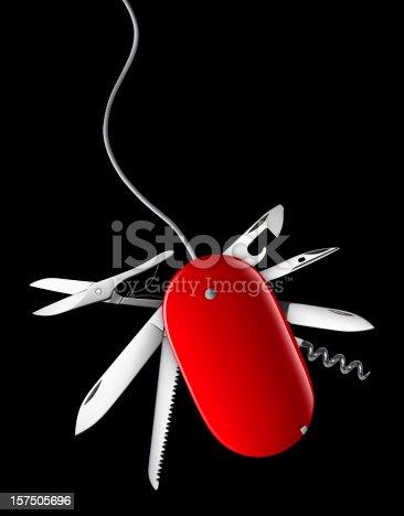 istock Multifunctional mouse 157505696
