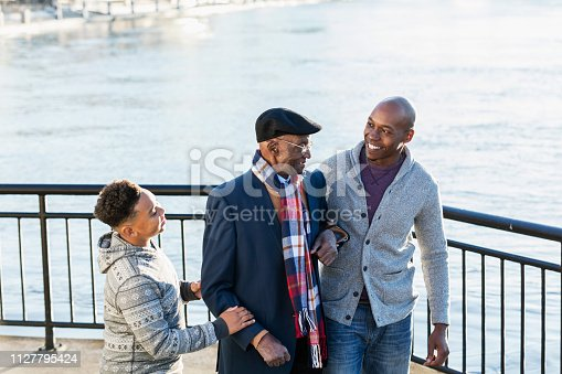 istock Multi-generation African-American family 1127795424
