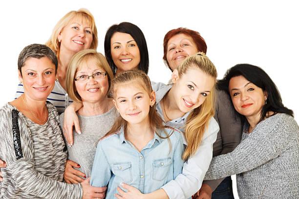 Mehrgenerationen-Familie – Foto