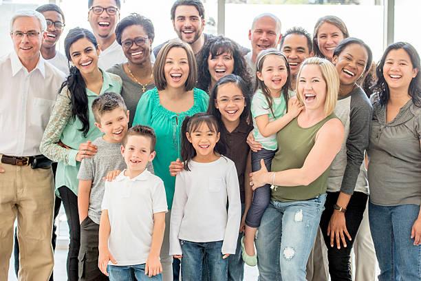 Multi-générationnelle groupe de personnes - Photo