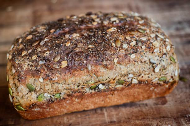 Multigrain Bread Loaf stock photo