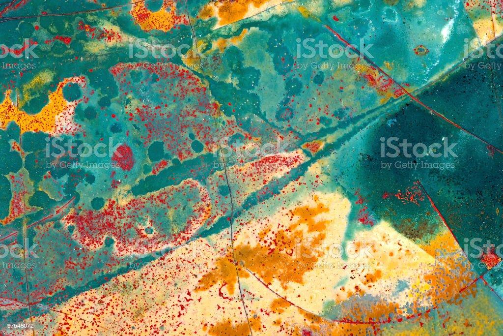 Multicolore dalle de roche photo libre de droits