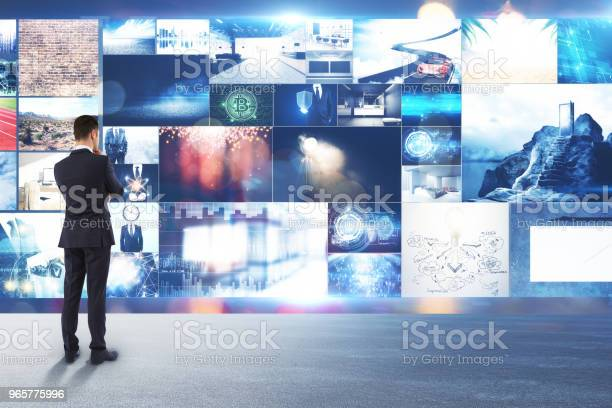 Multimedia And Communication Concept Stock Photo - Download Image Now