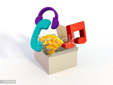 istock Multimedia Box Concept 170463795