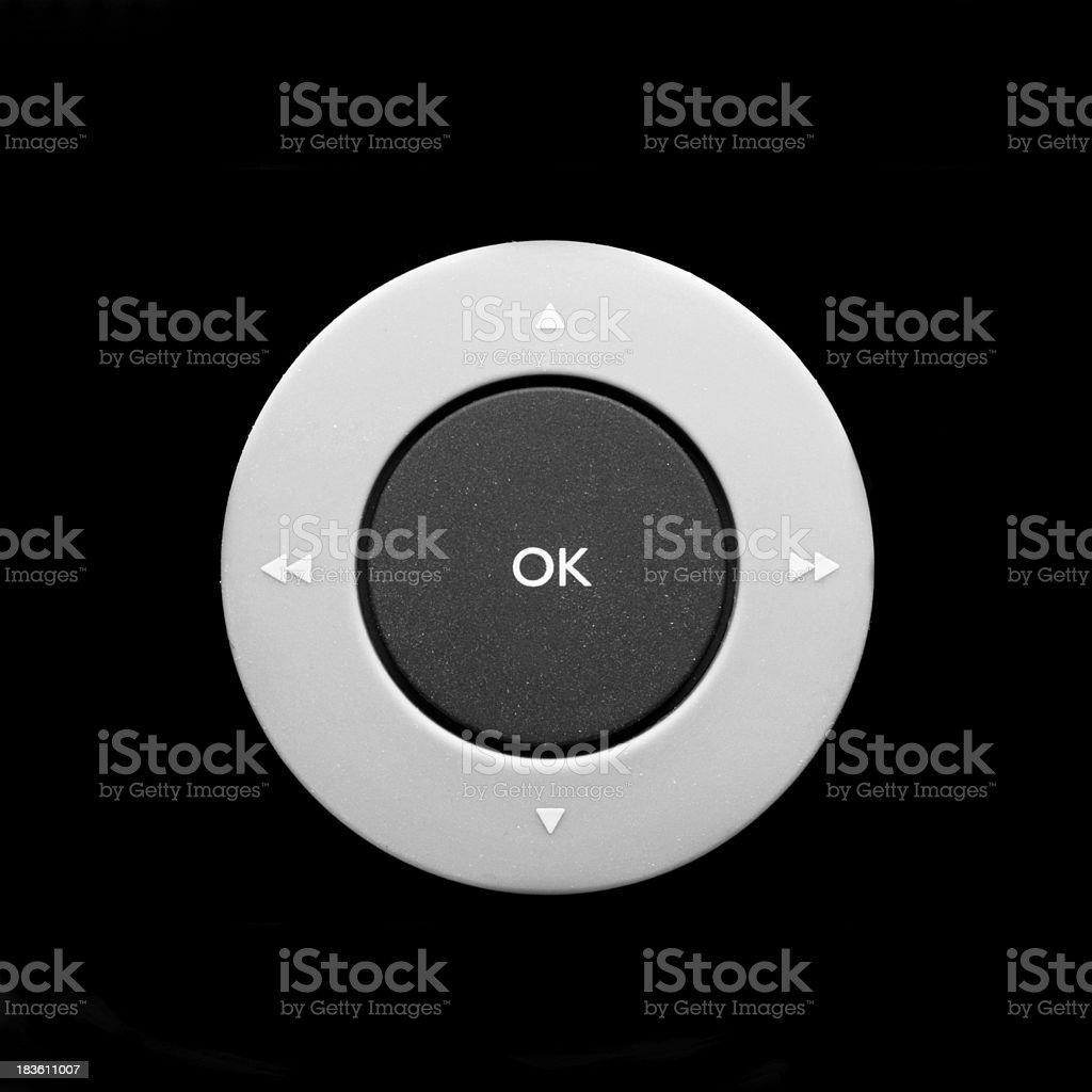 Multimedia controls on black closeup photo royalty-free stock photo