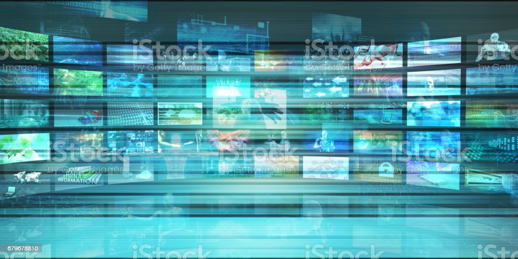 Multimedia Tracking stock photo