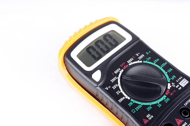 Multimeter stock photo