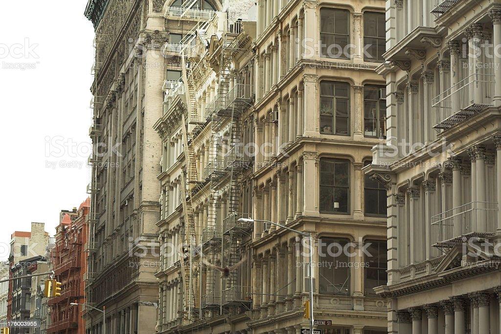 Multi-million dollar Soho Lofts royalty-free stock photo