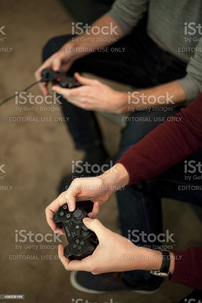 Multiplayer Gaming stock photo