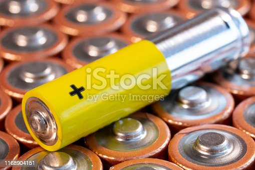 istock Multiple AA and AAA batteries 1168904151