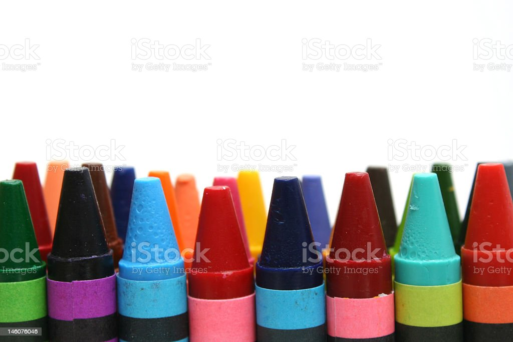Multiple assortment of chromatic colors royalty-free stock photo