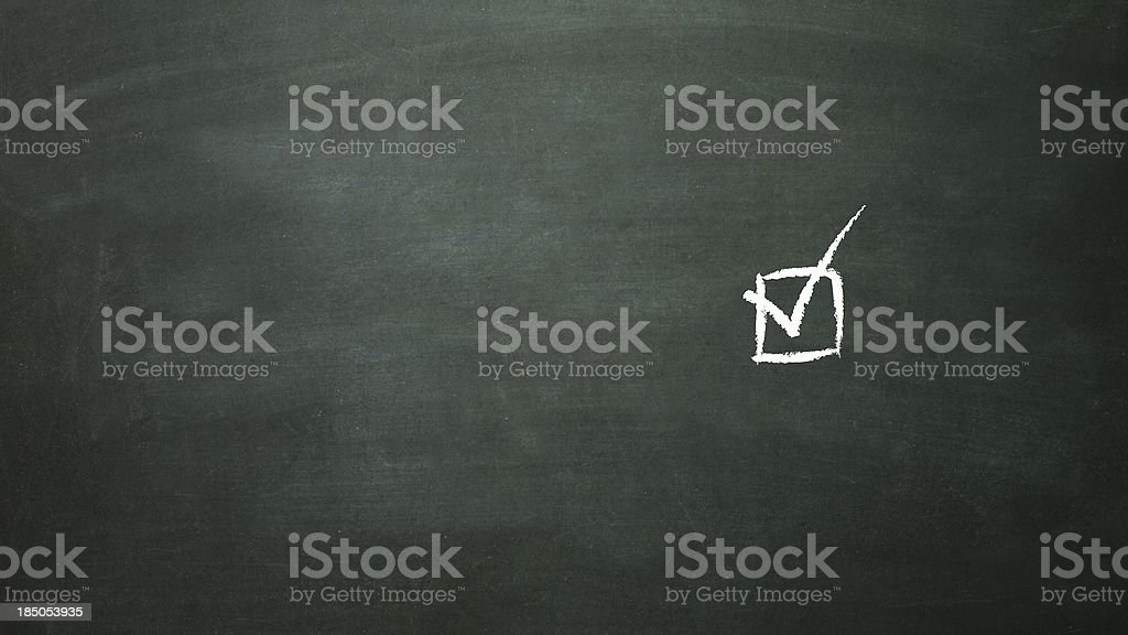 multiple choice selection 1 royalty-free stock photo
