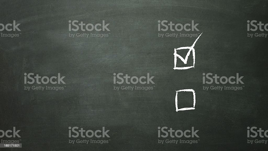 multiple choice selection a royalty-free stock photo