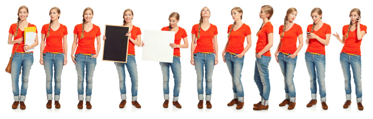istock Multiple exposure of a young woman 467877041