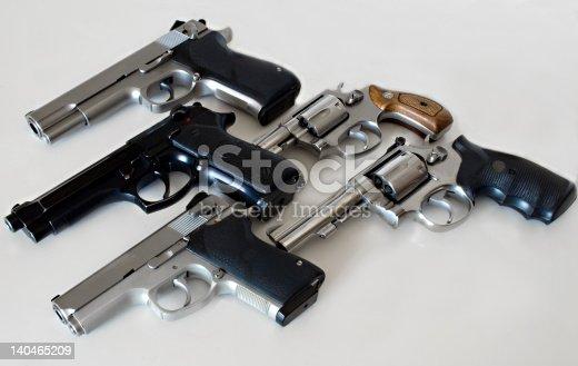 istock Multiple Guns 140465209