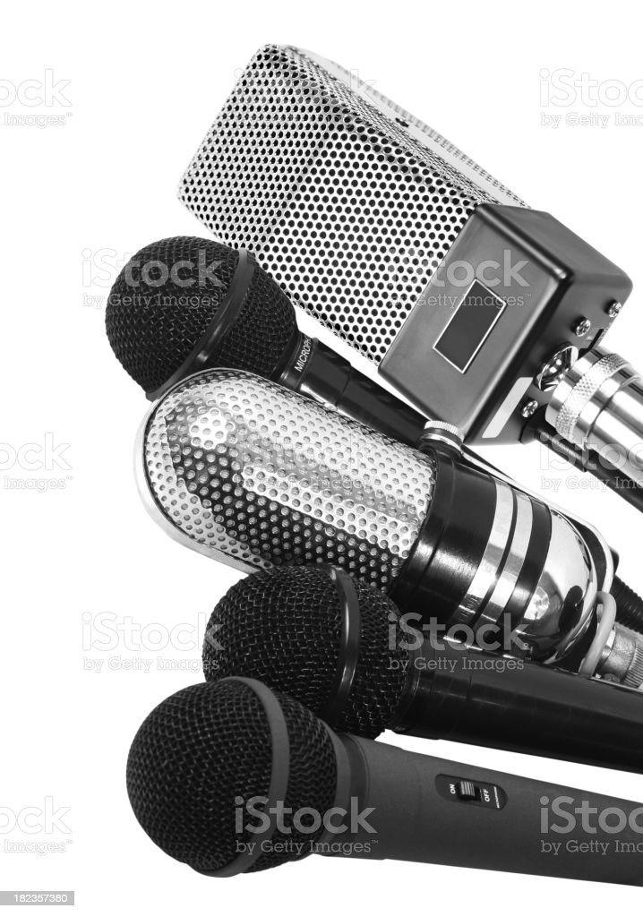 Multiple interview royalty-free stock photo