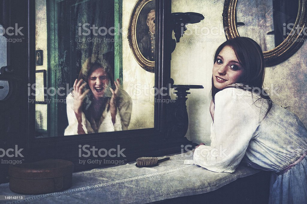 Multiple Personality royalty-free stock photo