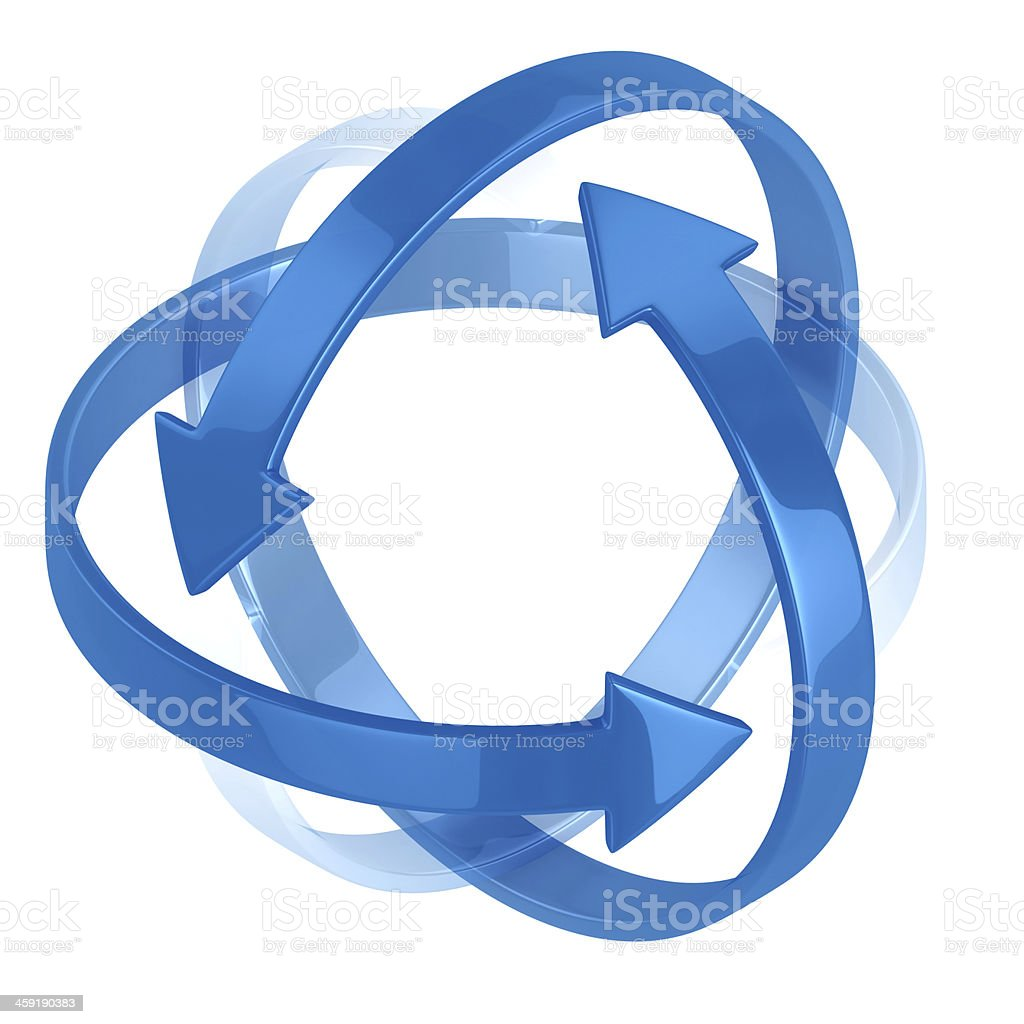 multiple protection symbol stock photo