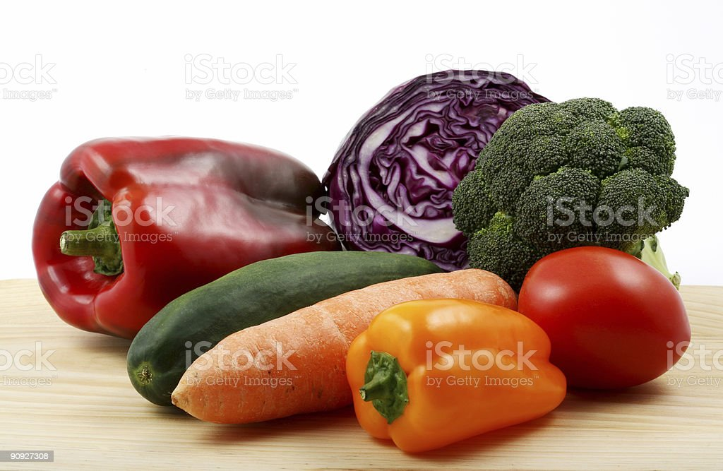 Multiple vegetables royalty-free stock photo