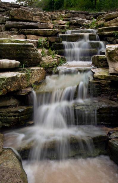 Multiple Waterfalls stock photo