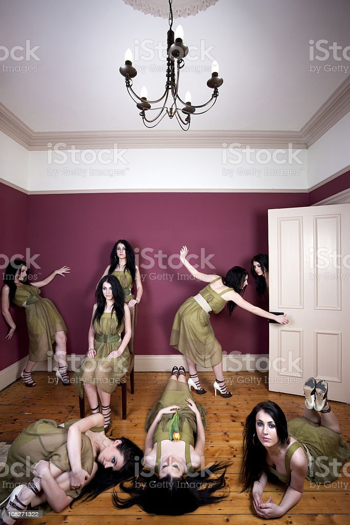 Multiplicity stock photo