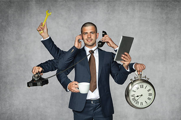 multipurpose businessman multipurpose businessman octopus photos stock pictures, royalty-free photos & images