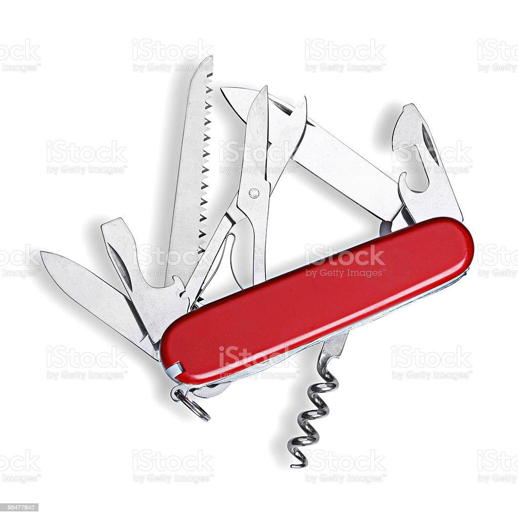 Multipurpose Knife isolated stock photo