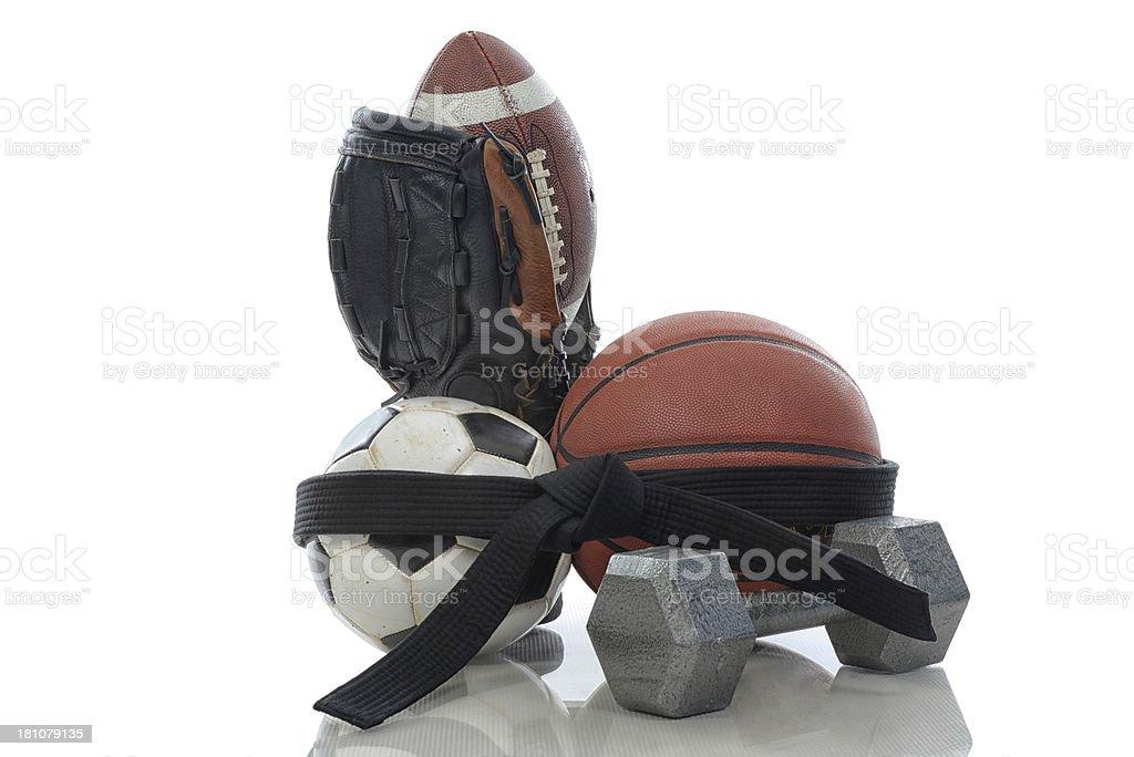 Multi-sport royalty-free stock photo