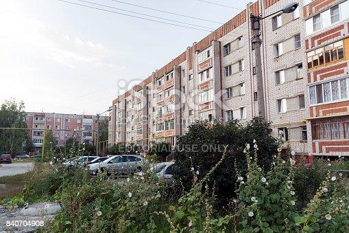 istock Multi-storey residential building 840704908