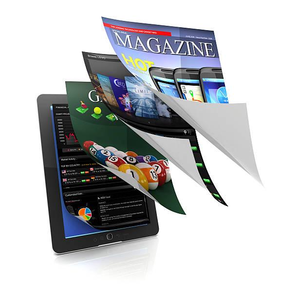 multitasking und usablity an einem tablet arbeitet - pictafolio stock-fotos und bilder
