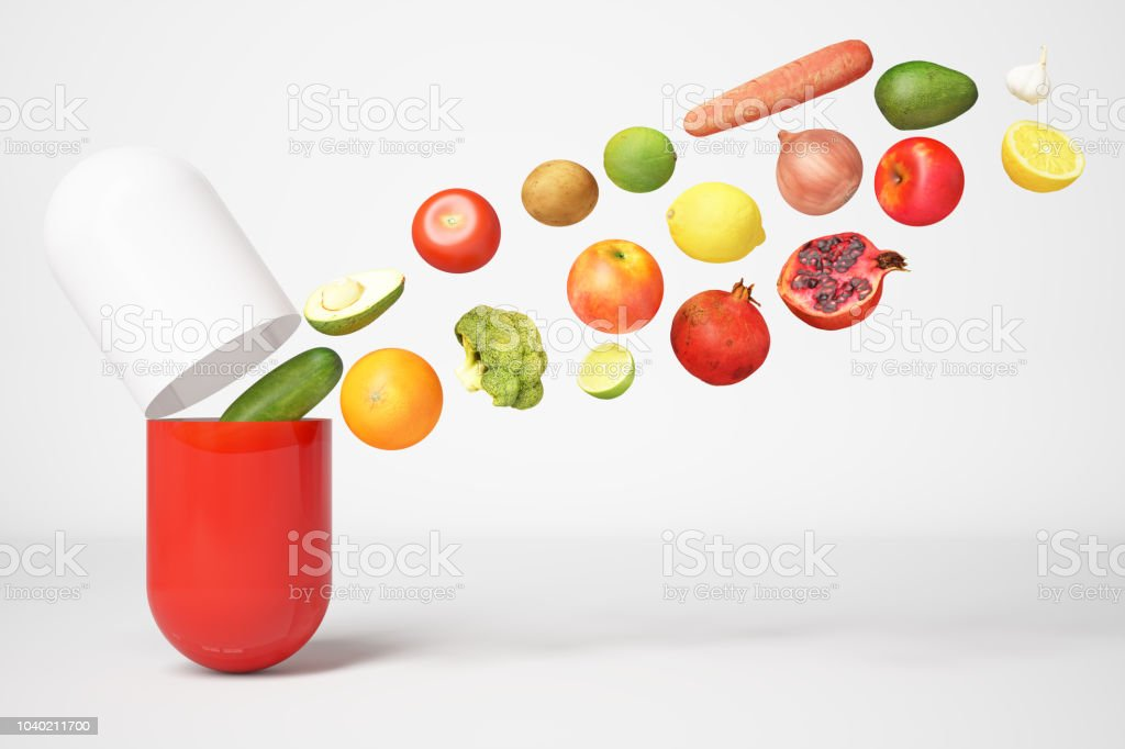 Multivitamin Capsule Stock Photo - Download Image Now