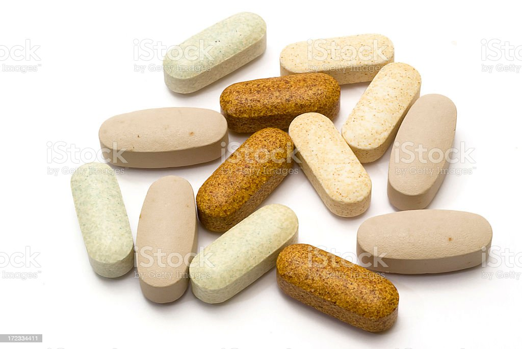 Multivitamins royalty-free stock photo