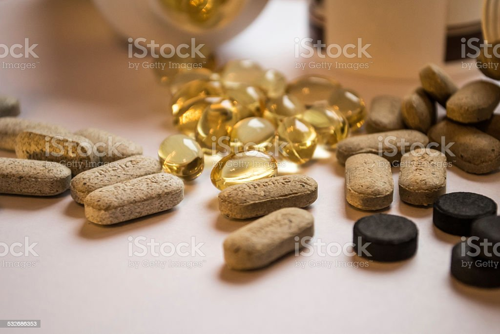 Multivitamins stock photo