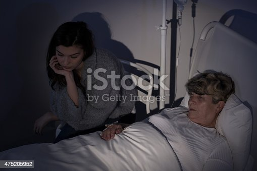 501741686istockphoto Mum staying in hospice 475205952
