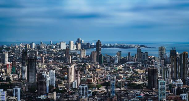 mumbai luchtfoto 01 - mumbai stockfoto's en -beelden
