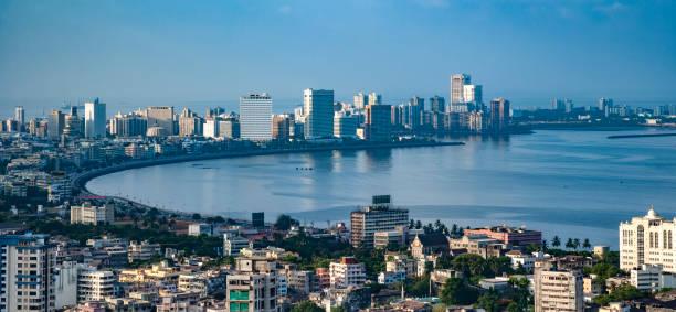 mumbai luchtfoto 05 - mumbai stockfoto's en -beelden