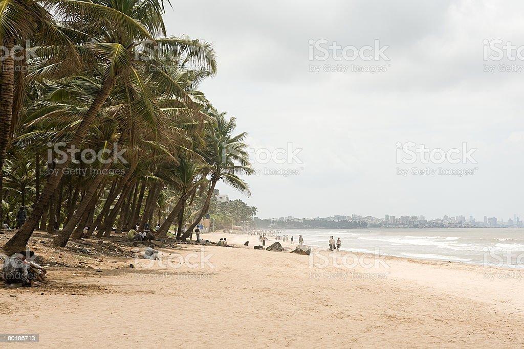 Mumbai beach Lizenzfreies stock-foto