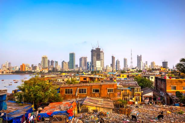 stad van mumbai, india - mumbai stockfoto's en -beelden
