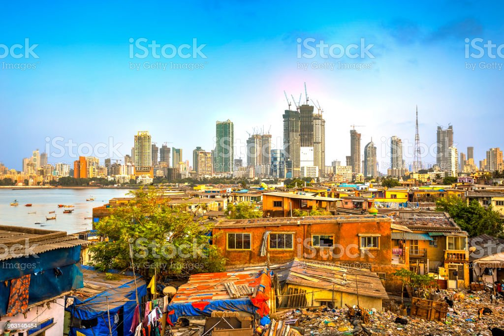 Mumbai city, India stock photo