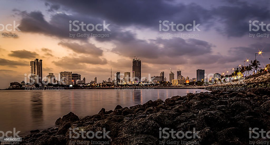 Mumbai Cityscape stock photo