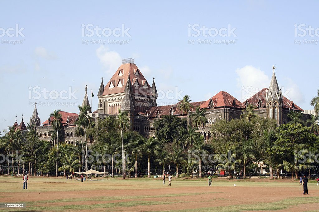 Mumbai High Court royalty-free stock photo