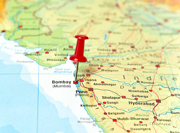 Royalty Free Bombay Map Pictures Images And Stock Photos Istock