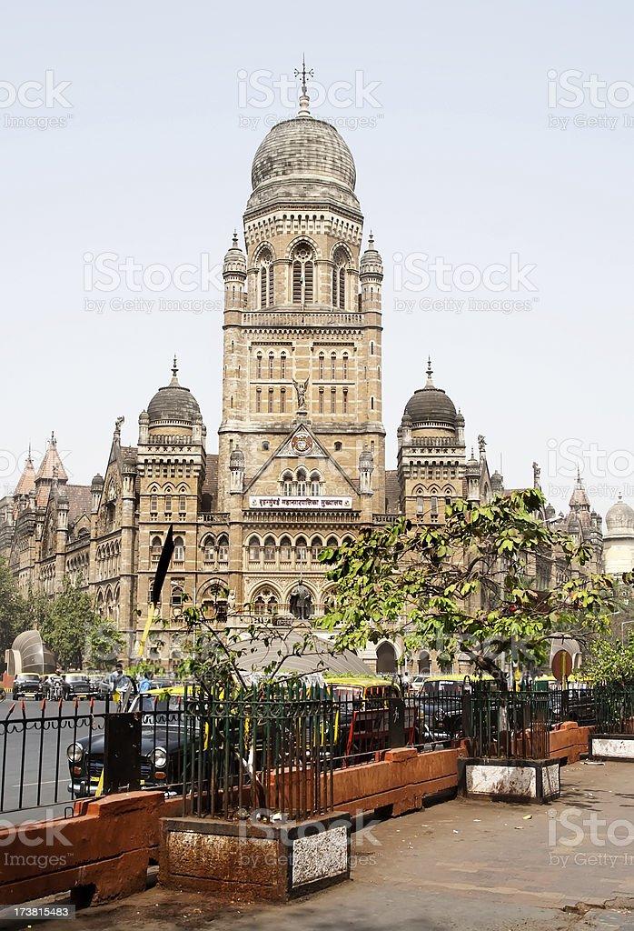 Mumbai VT Station royalty-free stock photo