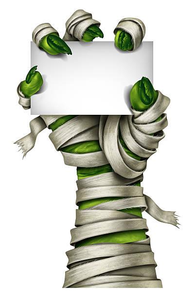 mummy - - halloween party einladungen stock-fotos und bilder