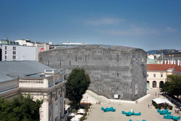 mumok museum - wien foto e immagini stock