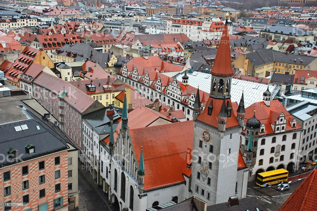 Munchen city view royalty-free stock photo