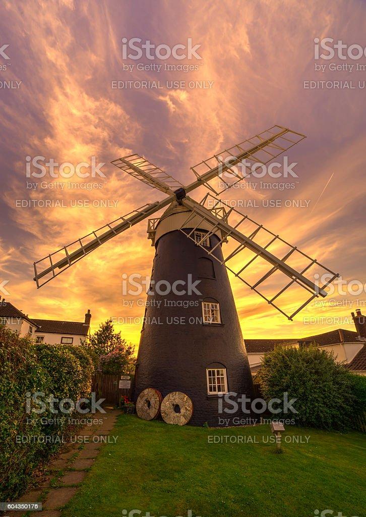 Mundesley Windmill stock photo